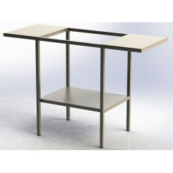Table support inox, double...