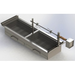 BARBECUE SERIE 800 INOX...