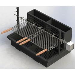 barbecue série 700 acier